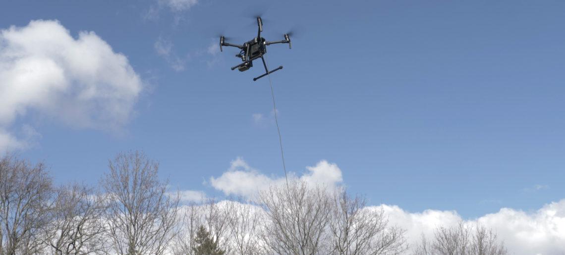 PATDrone – Erster seilgebundener Quadcopter mit Kategorie C Zulassung